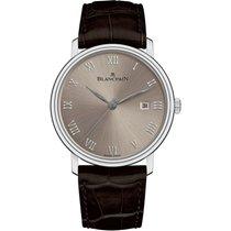 宝珀 (Blancpain) 6651-1504-55 Villeret Ultraplate Grey Dial...