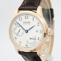 Union Glashütte Or rose 41mm Remontage manuel D903.456.76.017.00 nouveau
