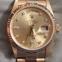 Rolex Day-Date CHAMP 2RDM 8BR Y Serviced by Rolex May with...