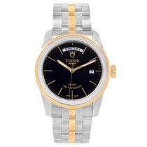 Tudor Glamour Date-Day Gold/Steel 39mm Black United States of America, Georgia, Atlanta