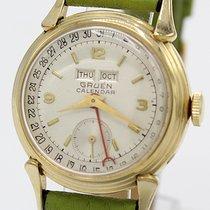 Gruen Triple Date Calendar von 1940 Gelbgold plated