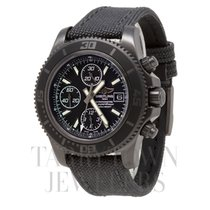 Breitling Superocean Chronograph II pre-owned 44mm Black Chronograph Date Textile