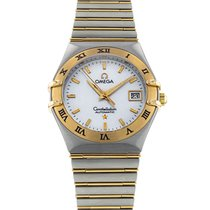 Omega Constellation Ladies pre-owned 27.5mm Gold/Steel