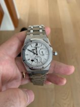 Audemars Piguet 26120ST.OO.1220ST.01 Steel 2009 Royal Oak Dual Time 39mm pre-owned