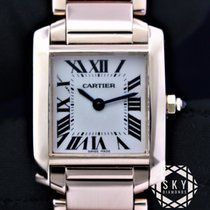 Cartier Tank Française pre-owned 20mm Rose gold
