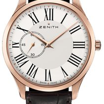 Zenith Elite Ultra Thin Rose gold 40mm White Roman numerals