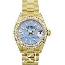 Rolex 279138RBR-0009 Oro amarillo Lady-Datejust 28mm nuevo