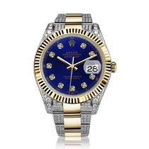 Rolex Datejust II Gold/Steel 41mm Blue No numerals United States of America, New York, New York