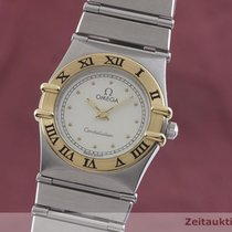 Omega Constellation Ladies Zlato/Ocel 22.5mm Bílá