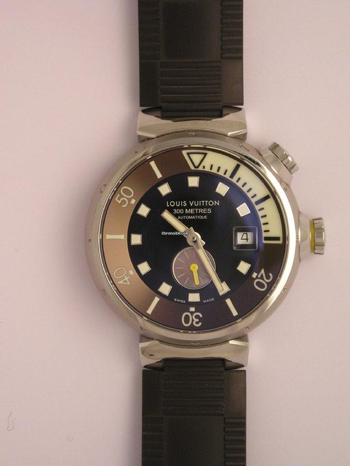 Louis Vuitton - LOUIS VUITTON Tambour diver - Q1031