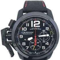 Graham Chronofighter Oversize 2CCBK.B07A pre-owned