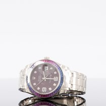 Rolex Pearlmaster White gold 39mm Purple