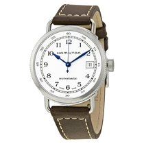 Hamilton H78215553 Steel Khaki Navy Pioneer 36mm new