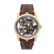 Roger Dubuis Rose gold Automatic No numerals 42mm new Excalibur