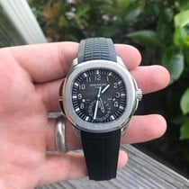 Patek Philippe Aquanaut Steel 40.8mm Black Arabic numerals United States of America, New York