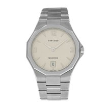 Concord Mariner Steel 39mm Silver Arabic numerals United States of America, New York, New York