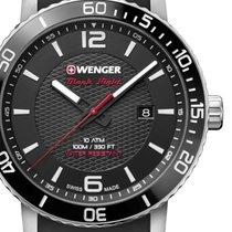 Wenger Steel 44mm Quartz 01.1841.102 new