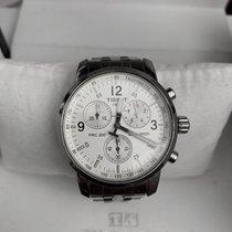 Tissot PRC 200 rabljen 41mm Srebro Kronograf Datum, nadnevak Zeljezo
