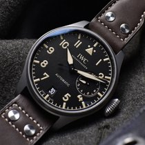 IWC Big Pilot Titane 46,2mm Noir Arabes