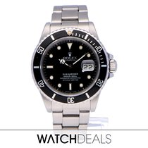 Rolex Submariner Date 16800 Very good Steel 40mm Automatic