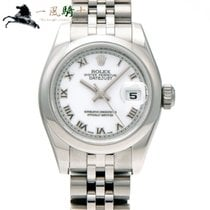 Rolex Lady-Datejust Сталь 26mm Белый