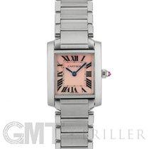 Cartier Tank Française Steel 20mm Pink