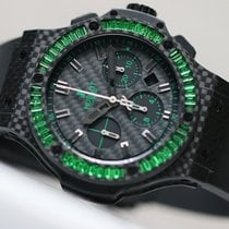 ウブロ Big Bang Carbon Bezel Baguette 24000€ HT