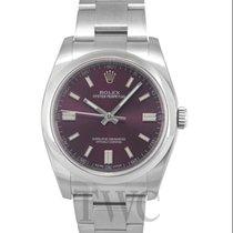Rolex Oyster Perpetual 36 Сталь 36mm Фиолетовый