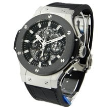 Hublot 311.SM.1170.GR Aero Bang Steel with Ceramic Bezel -...