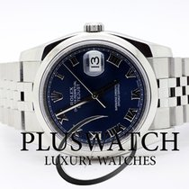 Rolex Datejust Jubilee 36mm  Blue Dial 2007 JUST SERVICED 3526