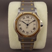 Cartier Santos Ronde Gold / Steel / 31mm