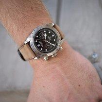Tudor Black Bay Chrono 79350-0005 Tudor BLACK BAY Chrono Acciaio Pelle Nero 41mm 2020 nov