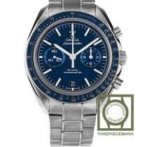 Omega Titanio Automático Azul Sin cifras 44.2mm nuevo Speedmaster Professional Moonwatch