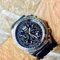Breitling B-2  Chrono automatic RUBBER + LEATHER chronograph B2
