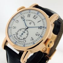 Chronoswiss new Automatic Display back Small seconds 40mm Rose gold Sapphire crystal