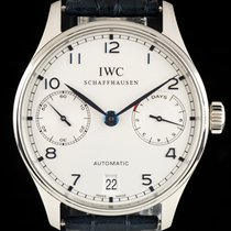IWC pre-owned Automatic 42.3mm Silver Sapphire Glass
