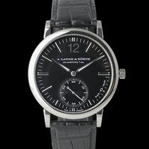 A. Lange & Söhne Langematik White gold 37mm Black