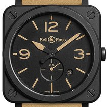 Bell & Ross BRS-HERI-CEM Ceramic 2021 BR S 39mm new United States of America, New York, Airmont