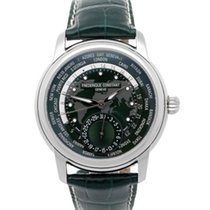 Frederique Constant Manufacture Worldtimer new Automatic Watch with original box and original papers FC-718GRWM4H6