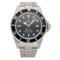 Rolex Sea-Dweller 4000 Steel 40mm Black No numerals United Kingdom, Liverpool