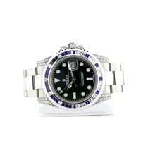Rolex GMT-Master II 40 mm Stainless Steel Ref# 116710 2Y Warranty