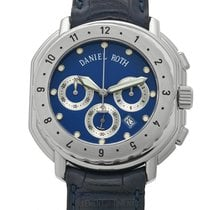 Daniel Roth Chronograph Stainless Steel Blue Dial 40mm