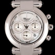 Chopard Chronograph 36mm Quartz pre-owned Imperiale Mother of pearl