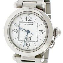Cartier Pasha C Steel 35mm White Arabic numerals United States of America, New York, New York