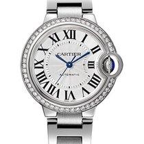 Cartier Ballon Bleu 33mm новые Автоподзавод Часы с оригинальными документами и коробкой W4BB0016