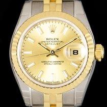 Rolex Lady-Datejust Gold/Steel 26mm Champagne No numerals United Kingdom, London