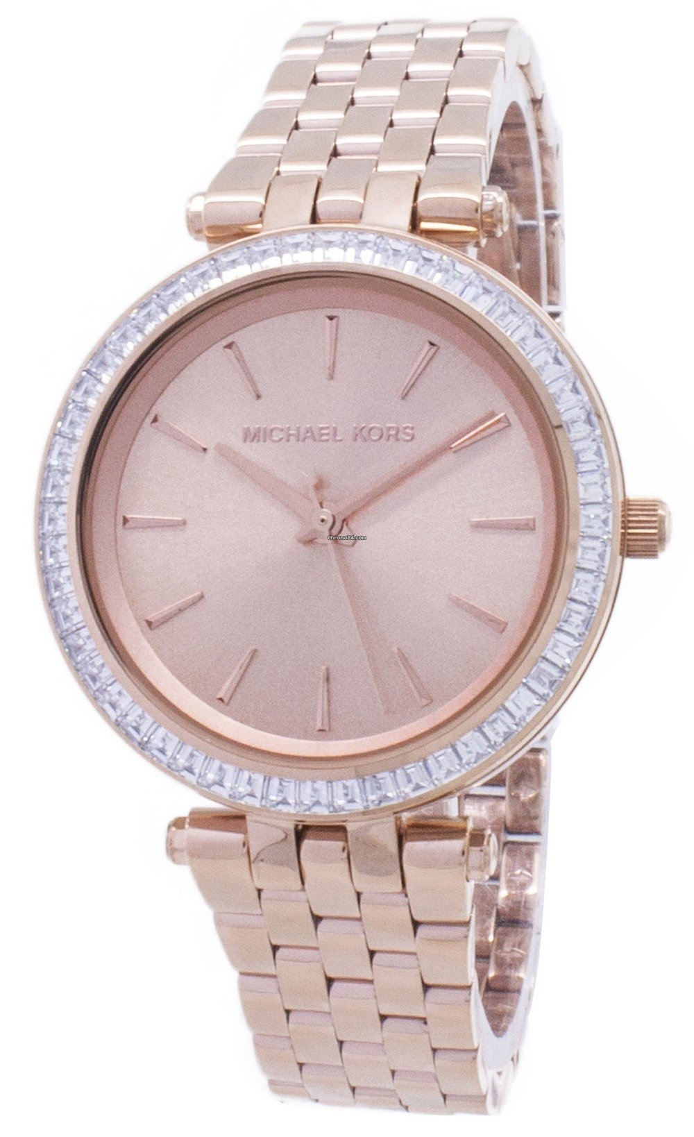 b4d4d310db04 Michael Kors Mini Darci Crystals Rose Gold Tone MK3366 Women s... for  150  for sale from a Seller on Chrono24