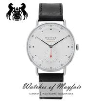 NOMOS Metro Neomatik Steel 39mm White