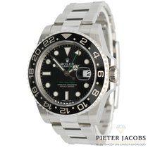 Rolex GMT-Master II tweedehands 40mm Zwart Datum GMT Staal