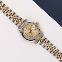 Rolex Lady-Datejust Ouro/Aço 26mm Ouro